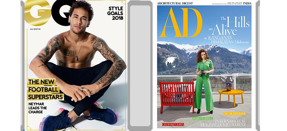GQ + AD - Print 1 Yr + Free Gift