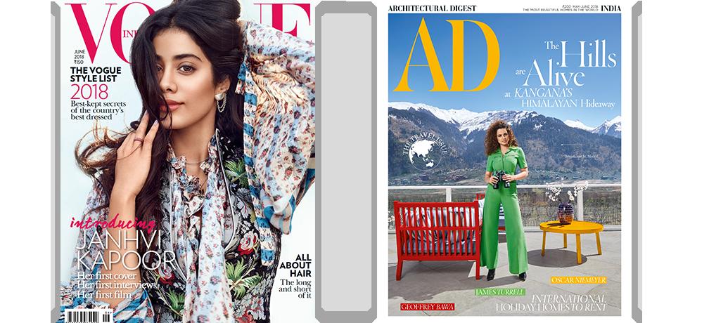Vogue + AD - Print 1 Yr + Free Gift