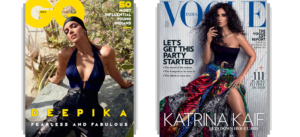 GQ + Vogue Print 1 Year + Free Gift