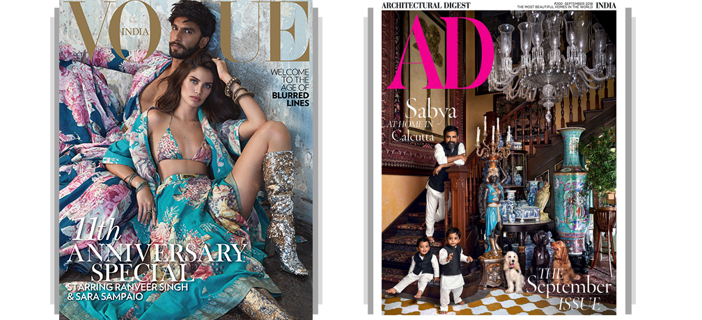 Vogue + AD Print 1Year