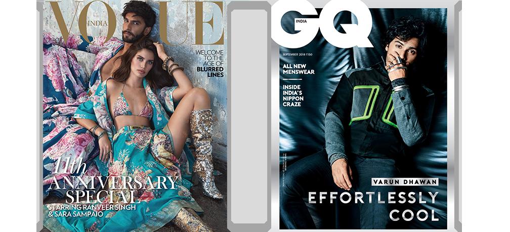 Vogue + GQ Print 1Year