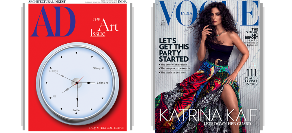 AD + Vogue Print 1 Year + Free Gift