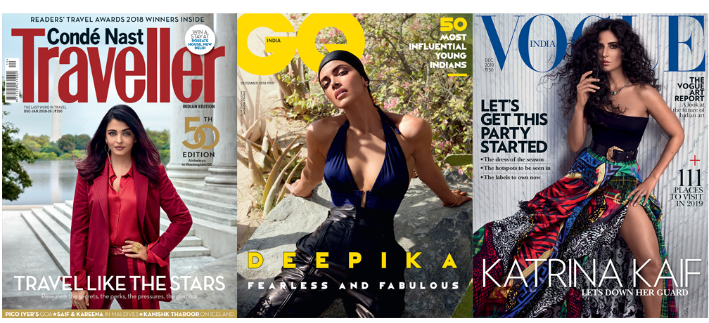 CNT + Vogue + GQ Print 1 Year + Free Gift
