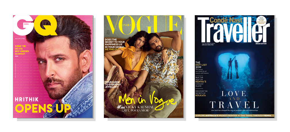 GQ + Vogue + CNT Print 1 Year + Free Gift