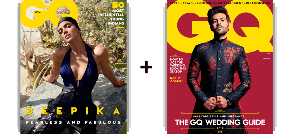 GQ Print 1 Year + Free GQ Wedding Guide & Gift